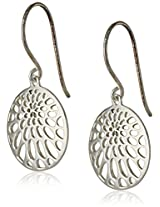 "Argento Vivo ""Lace"" Disc Earrings"