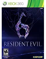 Resident Evil 6 Standard Edition (Xbox 360)