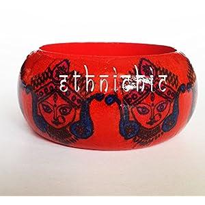 EthniChic Durga Bangle