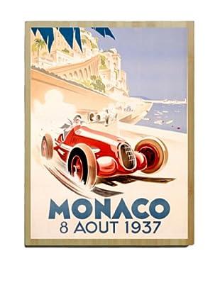Artehouse Monaco Bamboo Wood Sign, 24