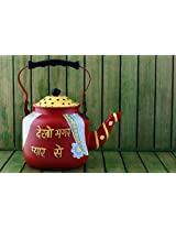 Swagger Stainless Steel quirky kettle / hand painted kettle