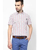 White Checked Casual Shirt Pepe Jeans