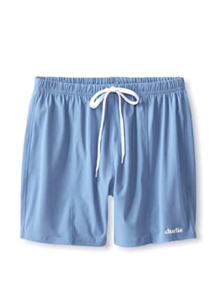 Charlie Men's Surf Swim Short (Medium blue)