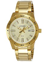 Citizen Analog Gold Dial Men's Watch - BI1062-57P