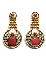 Shingar Ksvk Jewels Antique Polki Earrings danglers For Women (9188-pe-ruby)
