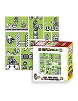 Ensky Nintendo Super Mario Brothers 30th Anniversary Green Mario World Jigsaw Puzzle (144 Piece)