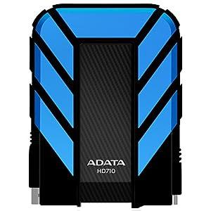 Adata Dash Drive Durable HD710 500 GB External Hard Drive Portable (Blue)