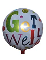 Get Well Foil Balloon (Pack of 2)