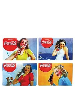 Set 4 Tovagliette Coca Cola