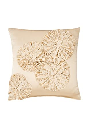 Kumi Kookoon Flower Pillow Cover (Ivory)
