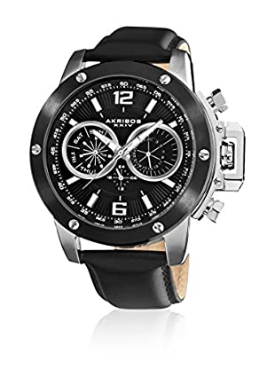 Akribos XXIV Reloj con movimiento cuarzo suizo Man AK469SS 50 mm