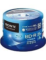 50 Sony Blu-ray 25GB 4x blank BD-R Printable blu ray