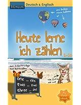 Heute lerne ich zählen - Deutsch & Englisch [Bilingual] (MyFirstEbook 1) (German Edition)