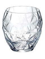Luigi Bormioli Prezioso Water Glass (Set of 4), 13.5 oz, Clear