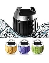 S2S Waterproof Bluetooth Speaker Subwoofer Mini Boombox (Green, Orange, Purple)