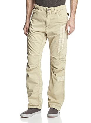 Jet Lag Men's MO-19 Relaxed Cargo Pant (Beige)