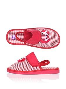Chuches Kid's Girl Slipper (Red)