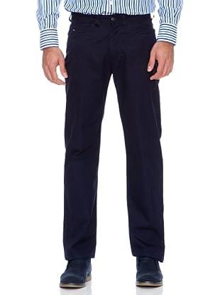 Tommy Hilfiger Pantalón Madison Spring Poplin (Azul)