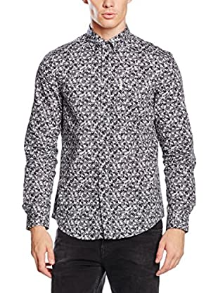 Ben Sherman Hemd Ls Digital Button Print