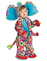 Forum Novelties Baby Boy's Lil' Party Animals Psychedelic Elephant Costume