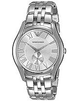 Emporio Armani Valente Analog Silver Dial Men's Watch - AR1788