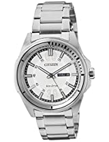 Citizen Analog White Dial Men's Watch - AW0030-55A