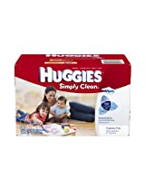 Huggies Simply Clean Fragrance Free Baby Wipes Refill (600 Sheets)