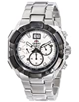 Orient Men's FTV00002W0 Enterprise Analog Japanese-Automatic Silver Watch
