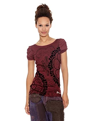 Desigual Camiseta Babiche (Fucsia)