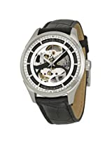 Hamilton Jazzmaster Viewmatic Automatic Skeleton Dial Black Leather Men'S Watch - Hml-H42555751