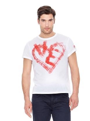 Calvin Klein Jeans Corazón M / C (Blanco)