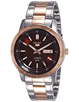 Seiko 5 Analog Red Dial Men's Watch - SNKN60K1
