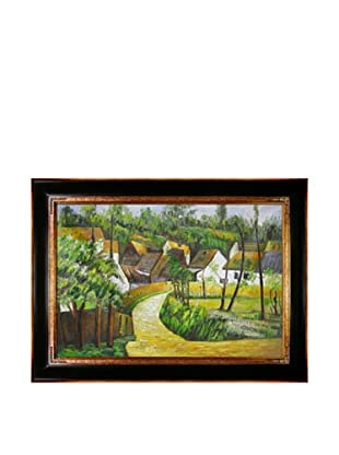 Paul Cézanne Turn in the Road at Auvers
