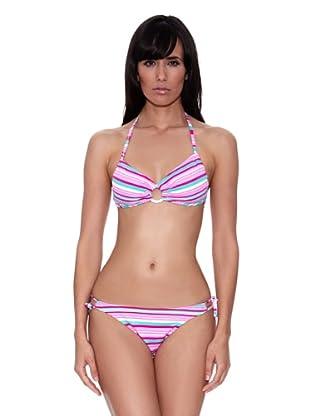 Bikini Martha (Rosa / Verde)