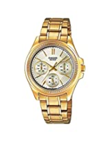 Casio Enticer Analog Gold Dial Women's Watch - LTP-2088G-9AVDF (A935)