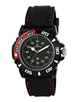 Maxima Hybrid Analog Black Dial Men's Watch - 29741PPGW