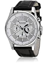 Octane Nd9322Sl02 Black/Silver Chronograph Watch