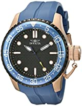 Invicta Analog Black Dial Men's Watch - 17512