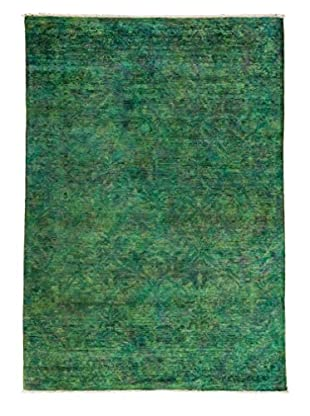 Darya Rugs Transitional Oriental Rug, Green, 8' 10