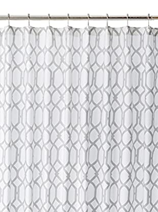 Tommy Bahama Shoretown Trellis Shower Curtain, Gray