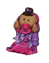 Cabbage Patch Kids Newborn Baby Doll (African American/Brown Eyes)