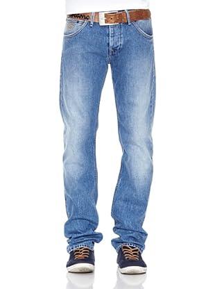 Pepe Jeans London Pantalón Vaquero Hoxton Ot (Azul Medio)