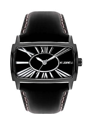 K&BROS 9147-5 / Reloj de Señora  con correa de piel negro