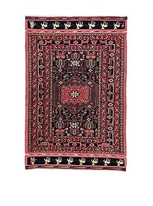 L'Eden del Tappeto Teppich Goochan Afgan mehrfarbig 205t x t135 cm