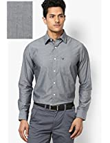 Black Full Sleeves Casual Shirts
