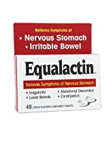 Equalactin Equalactin Chewable Tablets Relieves Symptoms Of Nervous Stomach