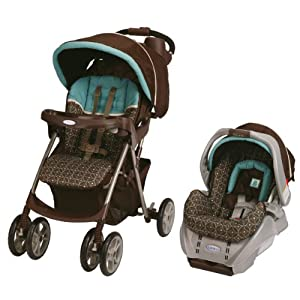 Graco Spree Classic Connect Travel System/SnugRide Classic Connect, Ollie