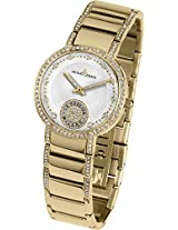 Jacques Lemans Analog White Dial Women's Watch - 1-1725F