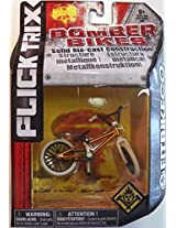Flick Trix Die-cast Bomber Bikes - Fit Bike Co. (Orange, Black, White)
