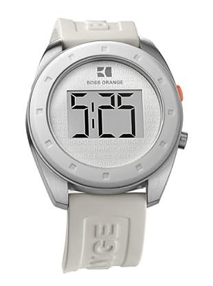Hugo Boss 1512562 - Reloj unisex de cuarzo, correa de plástico color blanco